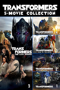Transformers 5-Movie Collection Vudu HD redeem only