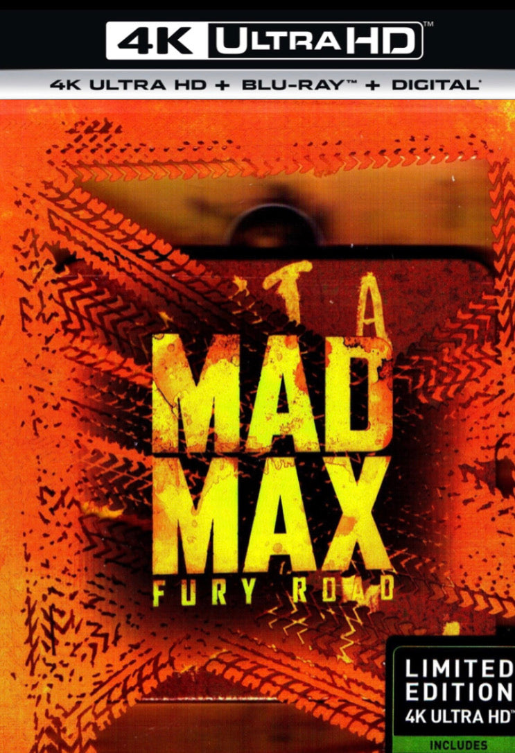 Mad Max: Fury Road (2015) Vudu or Movies Anywhere 4K code