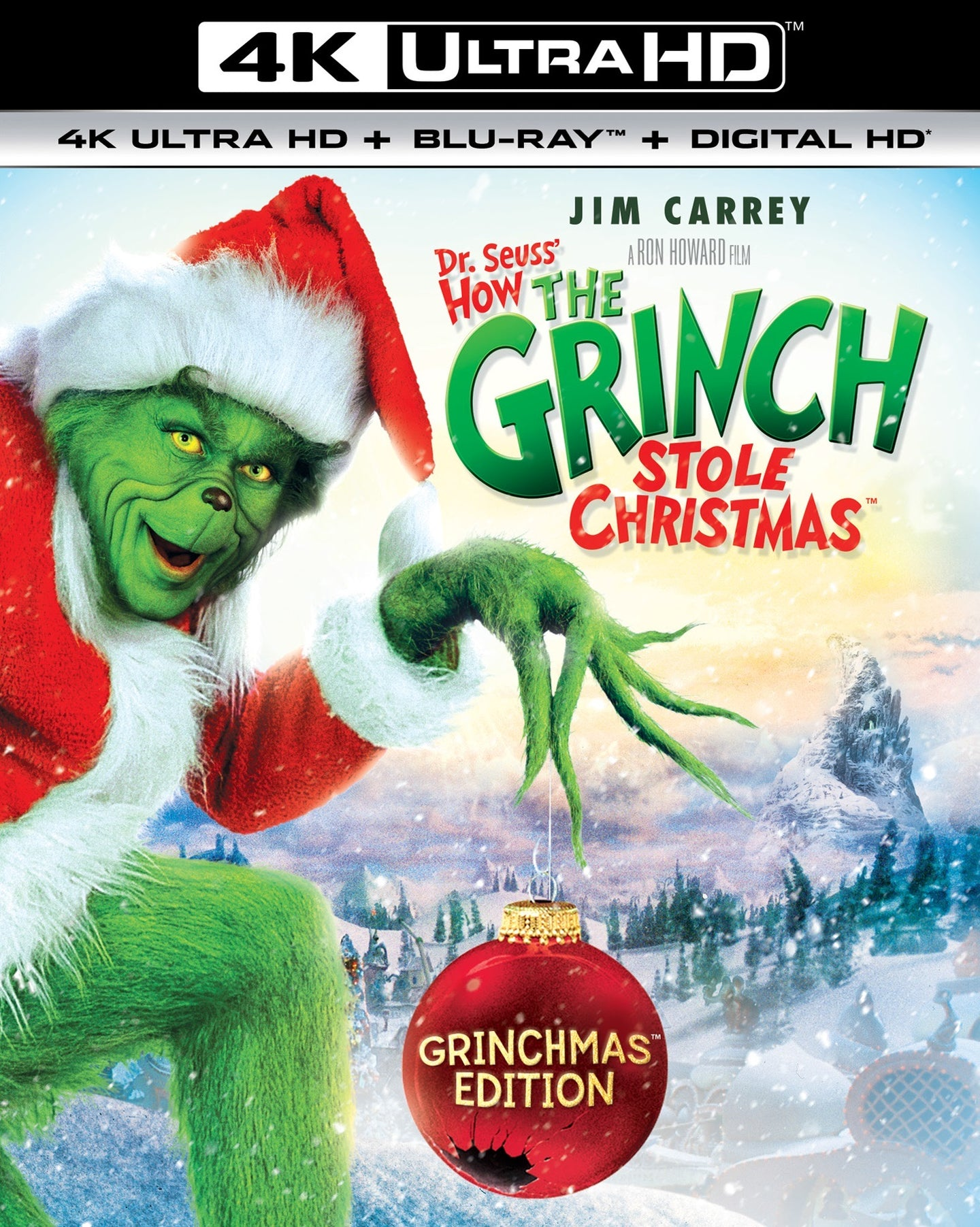Dr. Seuss' How The Grinch Stole Christmas iTunes 4K redemption only
