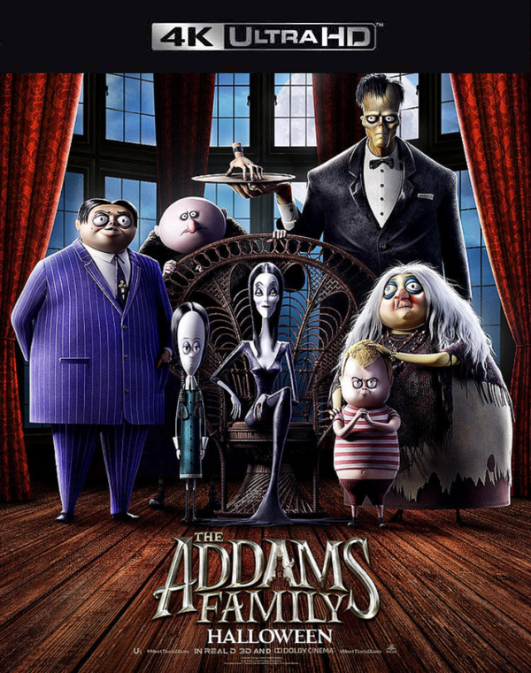 The Addams Family (2019) iTunes 4K code