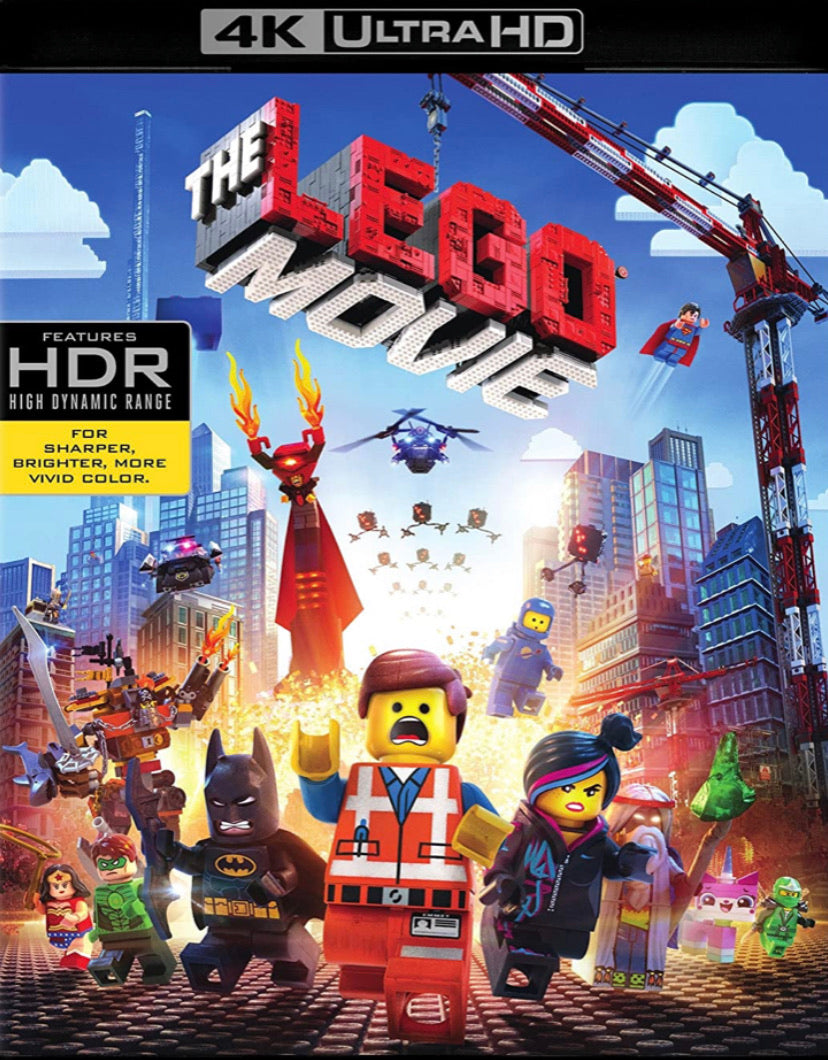 The Lego Movie (2014) Movies Anywhere 4K code
