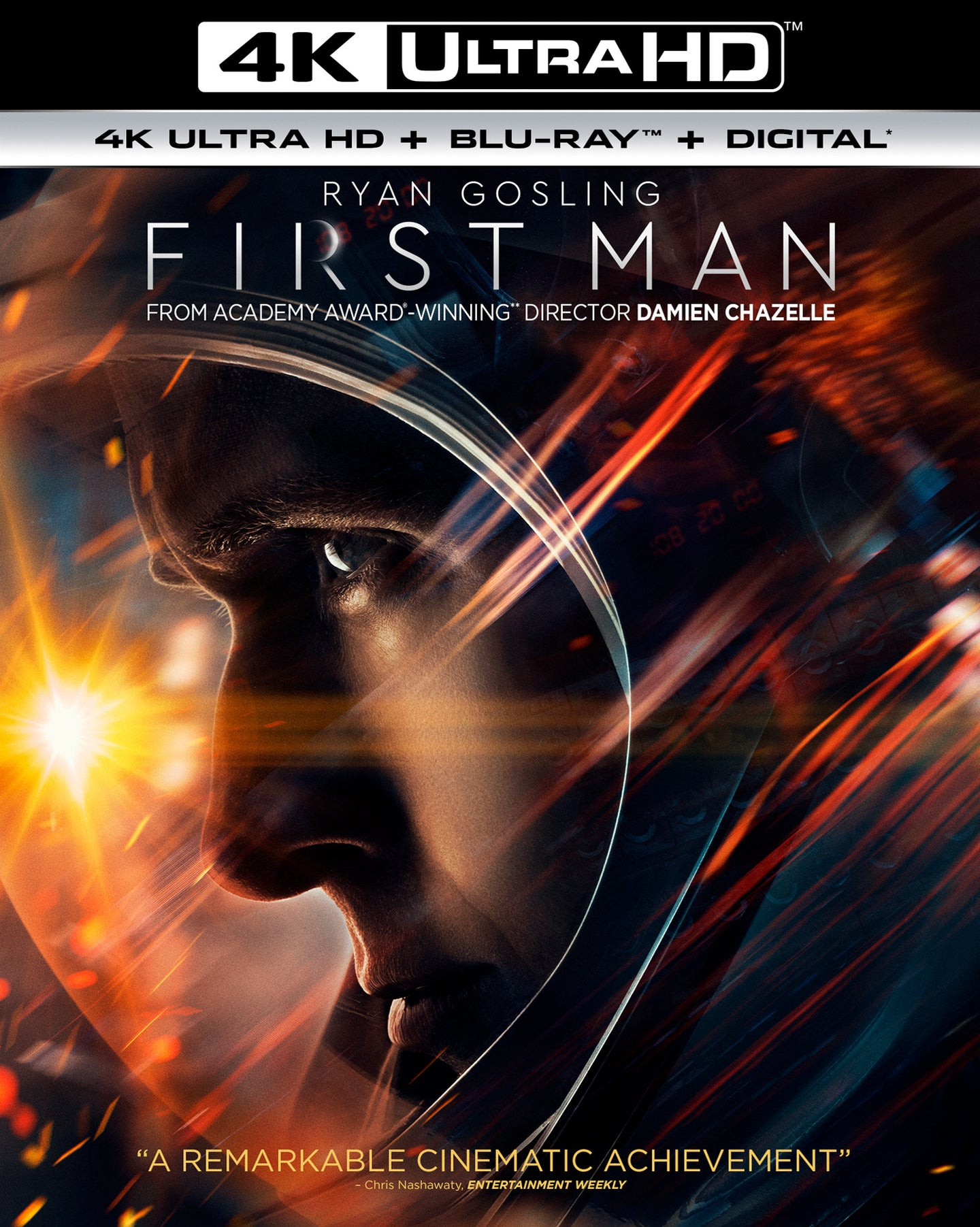 First Man Vudu or Movies Anywhere 4K code