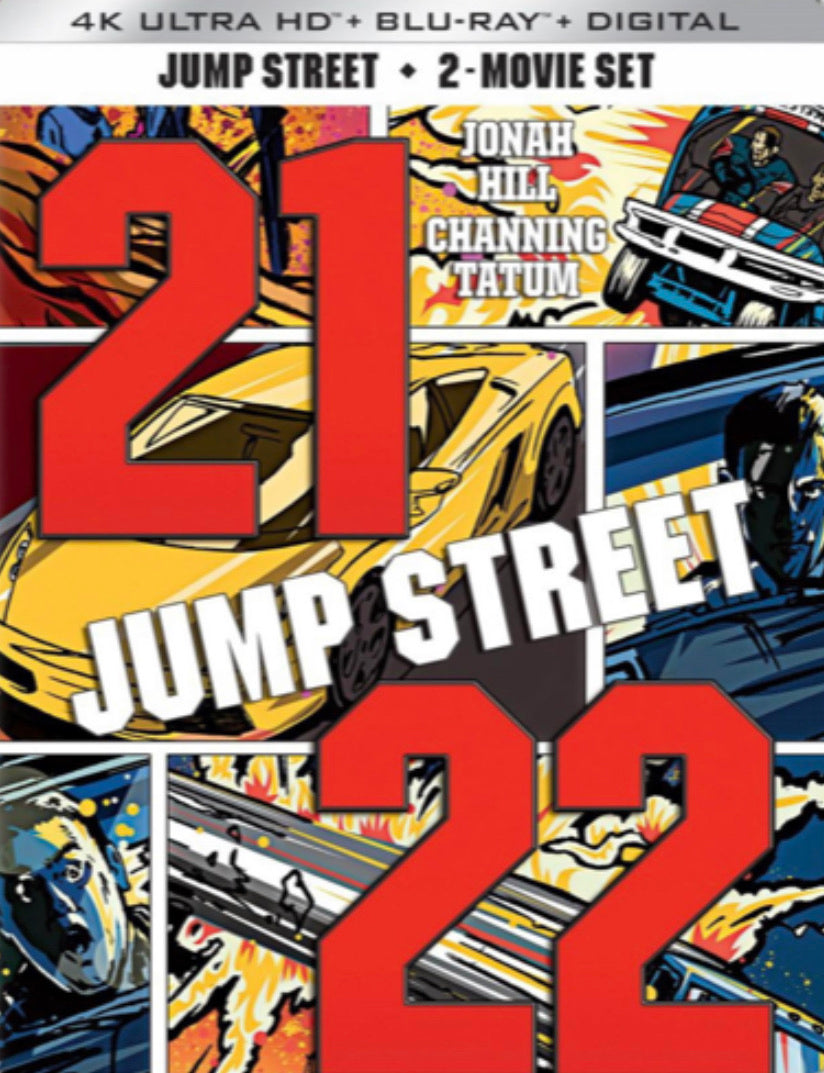 21 & 22 Jump Street (2012, 2014) Movies Anywhere 4K code