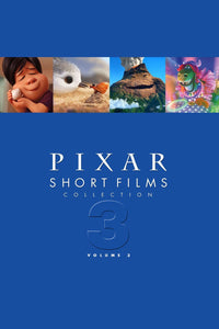 Pixar Short Films Collection: Volume 3 (2018) Vudu or Movies Anywhere HD redemption only