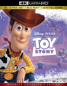 Toy Story (1995: Ports Via MA) iTunes 4K code