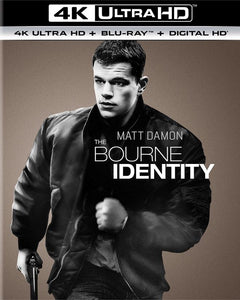 Bourne Identity iTunes 4K redemption only