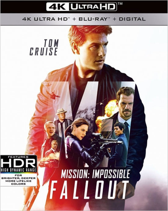 Mission Impossible Fallout (2018) iTunes 4K code