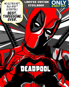 Deadpool iTunes 4K or Movies Anywhere HD code