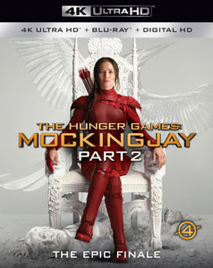 The Hunger Games: Mockingjay Part 2 (2015) iTunes 4K redemption only
