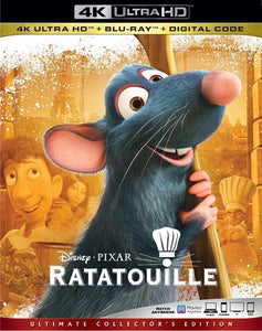 Ratatouille Vudu or Movies Anywhere 4K redeem only
