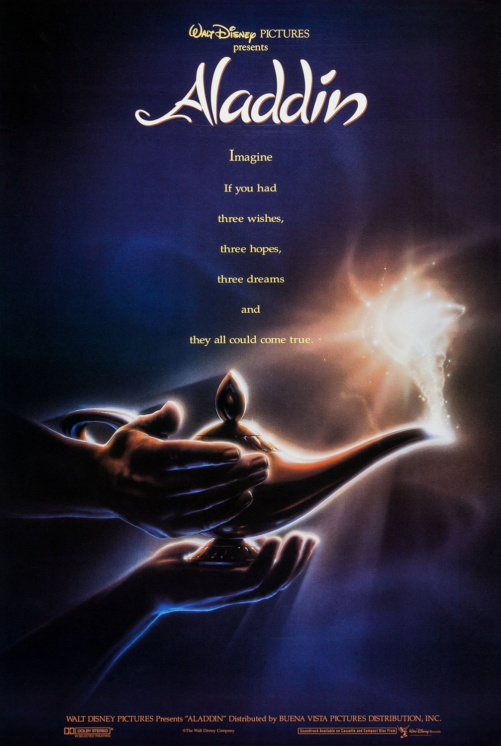 Aladdin (1992) Vudu or Movies Anywhere HD redemption only