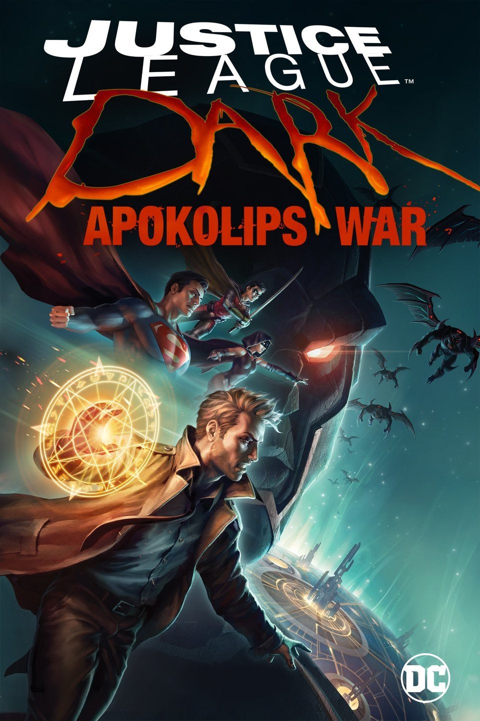 Justice League Dark: Apokolips War (2020) Vudu or Movies Anywhere HD code