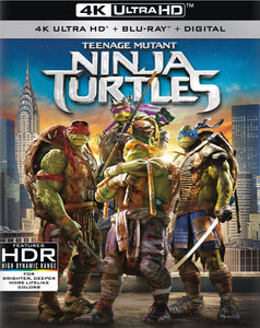 Teenage Mutant Ninja Turtles (2014) iTunes 4K redemption only