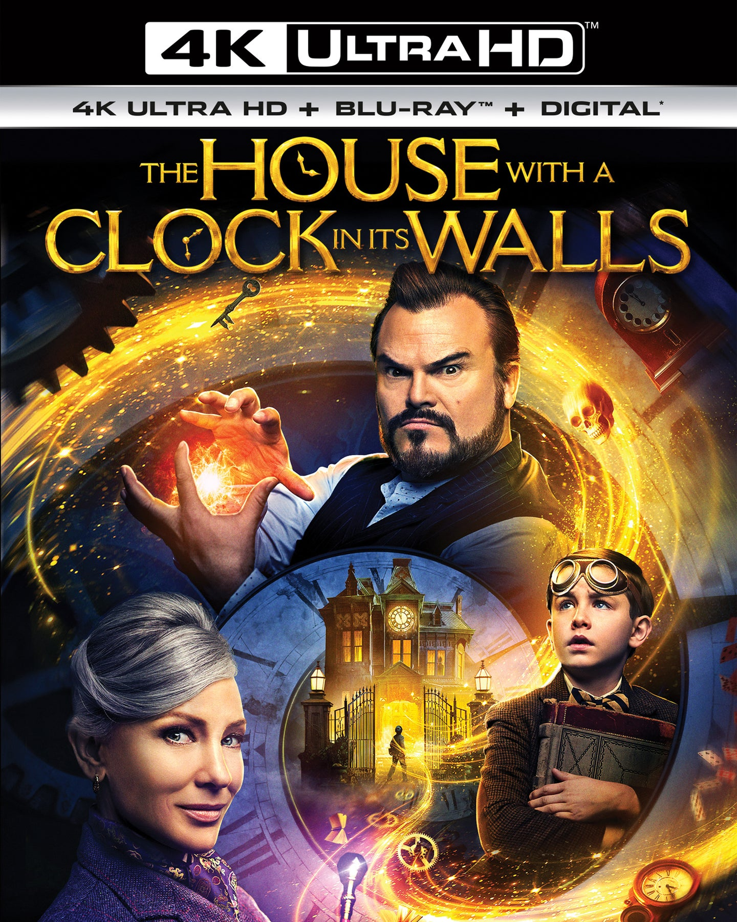 The House With A Clock In Its Walls Vudu or Movies Anywhere 4K code