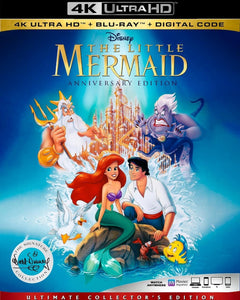 The Little Mermaid (1989) Vudu or Movies Anywhere 4K code