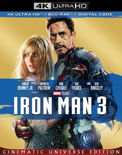 Iron Man 3 (2013) Vudu or Movies Anywhere 4K redemption only