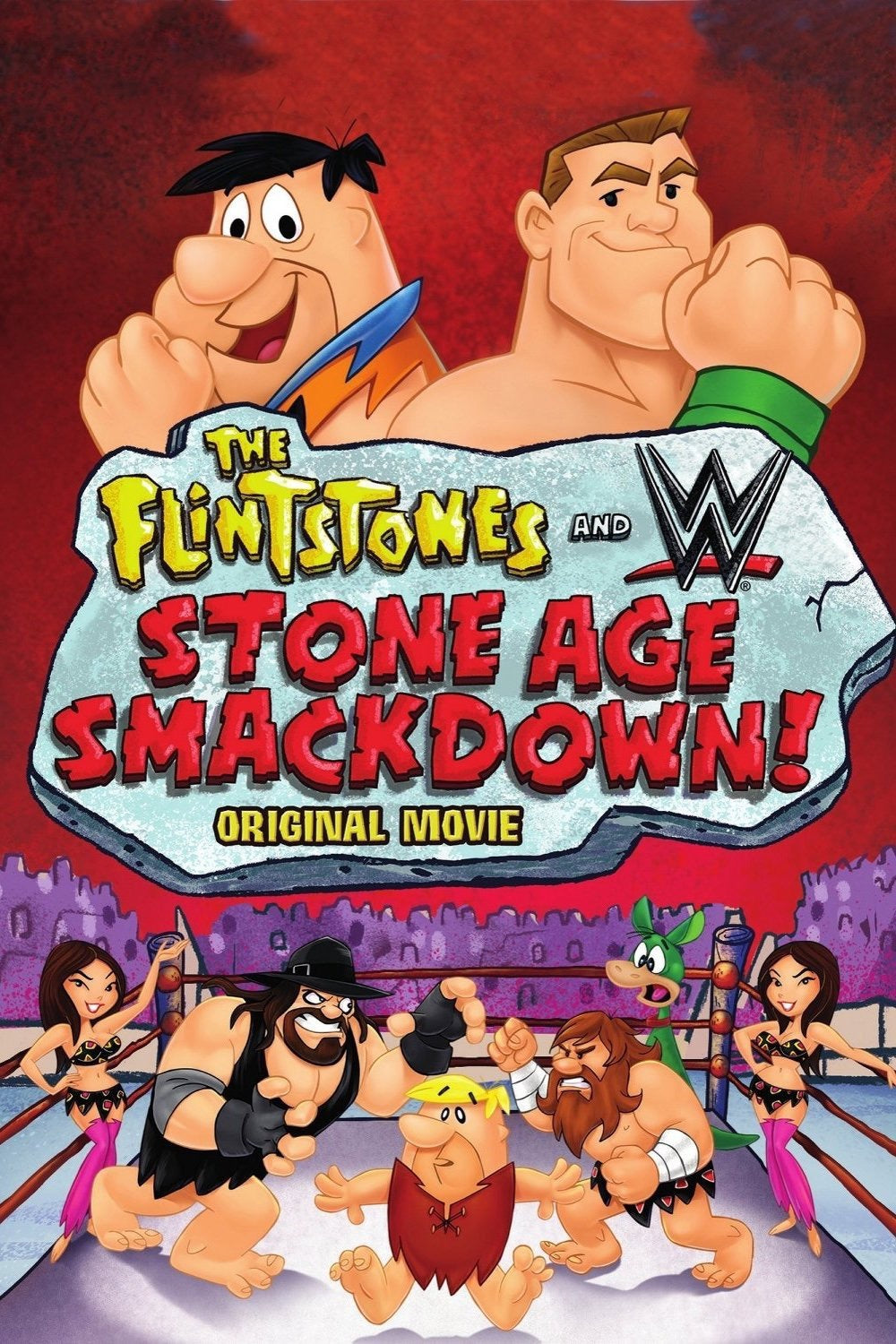 Flintstones And WWE Stone Age Smackdown! Vudu or Movies Anywhere