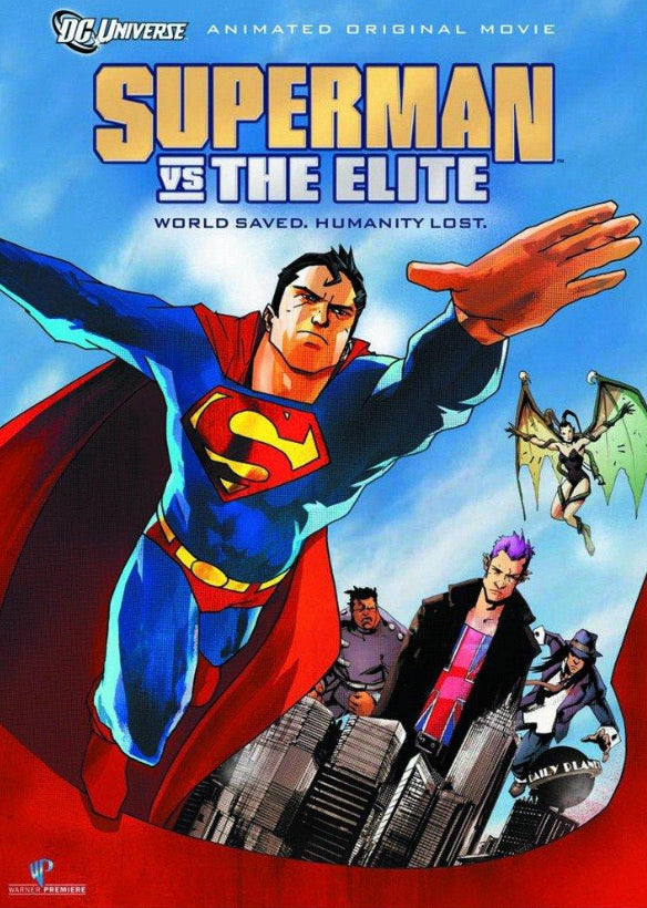 Superman Vs. The Elite (2012) Vudu or Movies Anywhere HD code