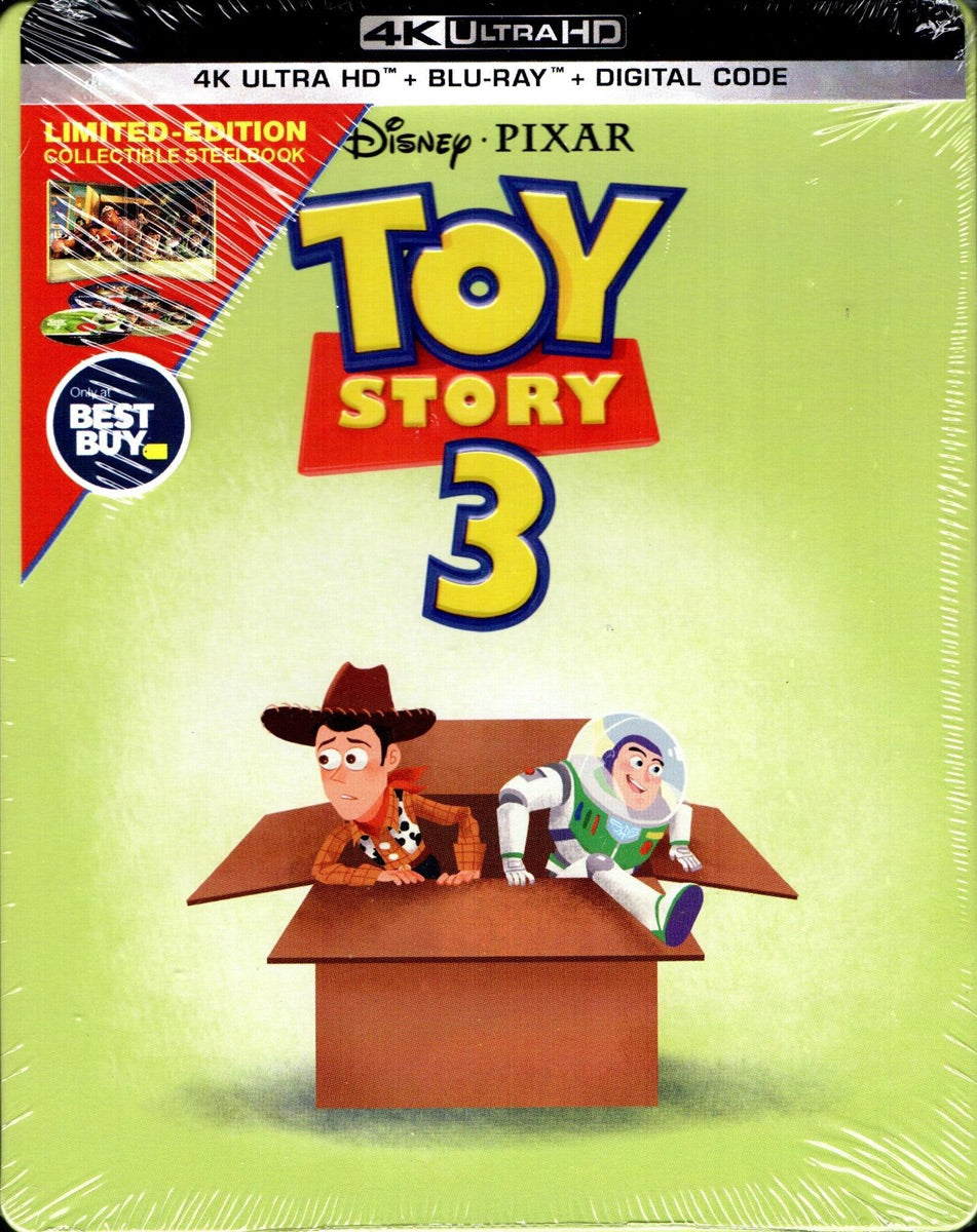 Toy Story 3 (2010) Vudu or Movies Anywhere 4K redemption only