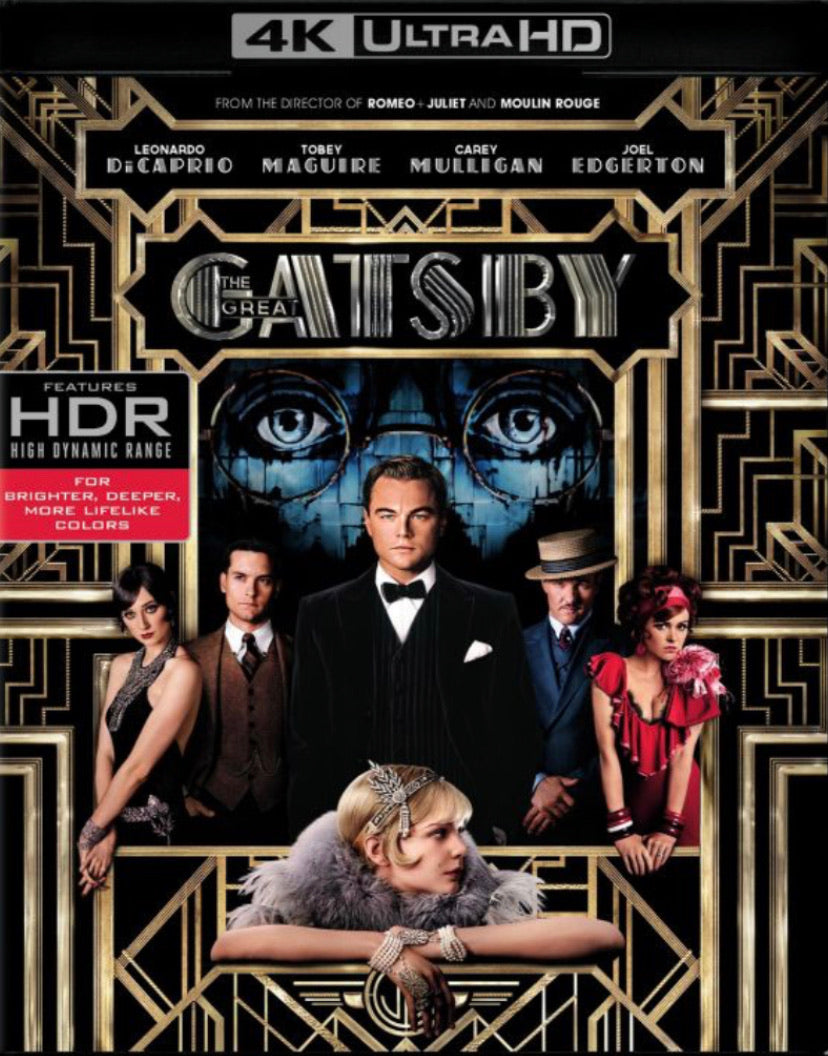 The Great Gatsby (2013) Movies Anywhere 4K code