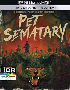 Pet Sematary (1989) Vudu 4K redemption only