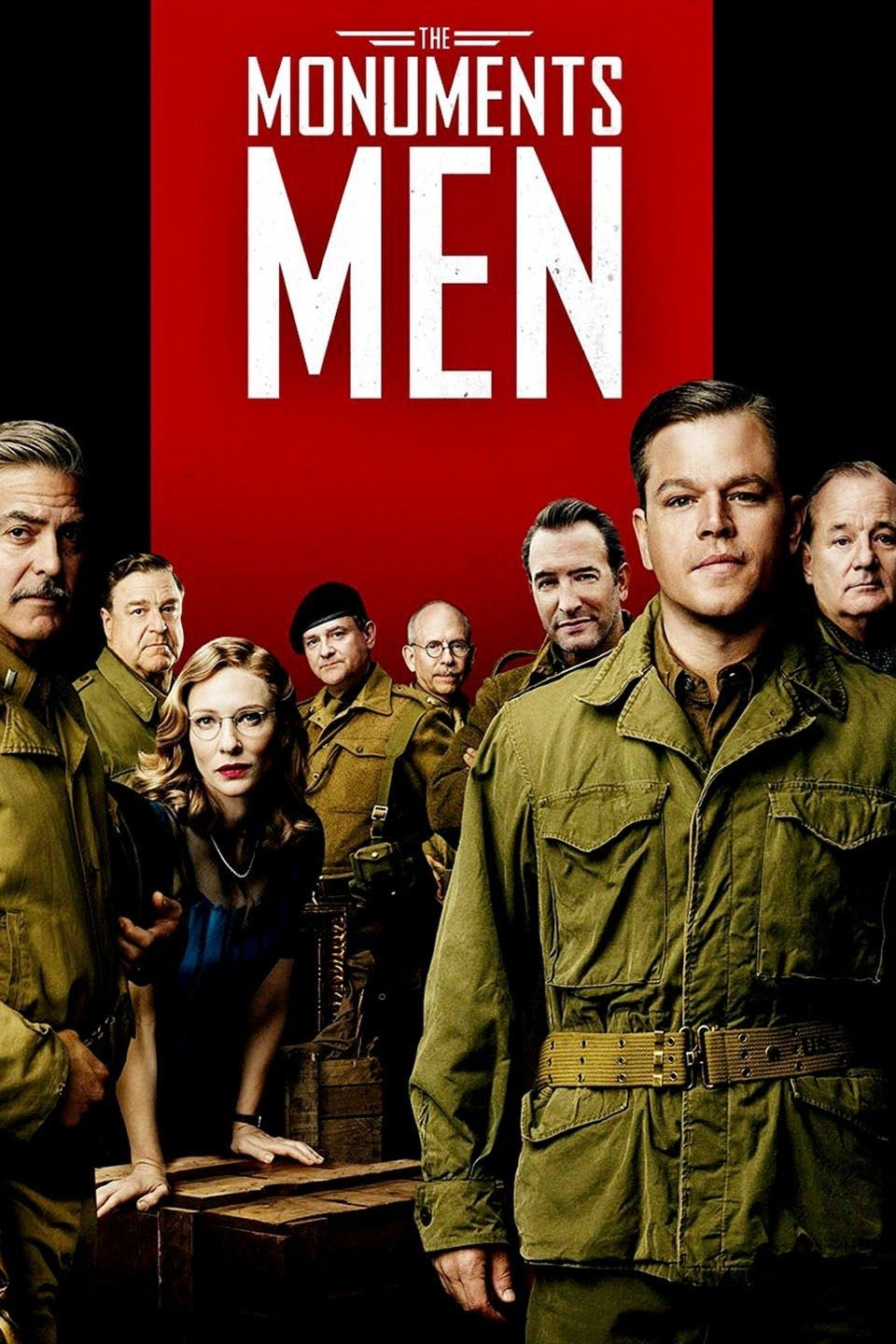 The Monuments Men (2014) Vudu or Movies Anywhere HD code