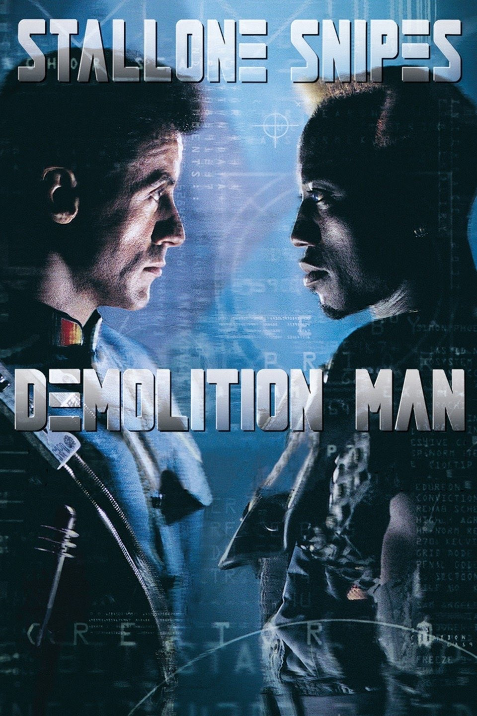 Demolition Man (1993) Movies Anywhere HD code