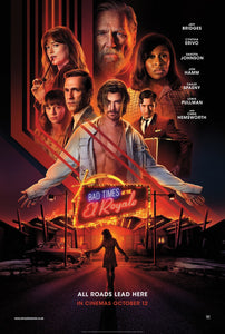 Bad Times At The El Royale (2018) Vudu or Movies Anywhere HD code
