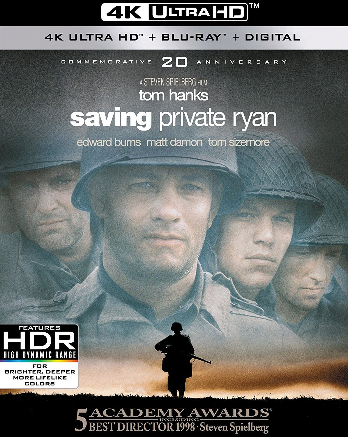 Saving Private Ryan iTunes 4K redemption only