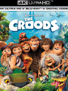 The Croods (2013) Vudu or Movies Anywhere 4K code