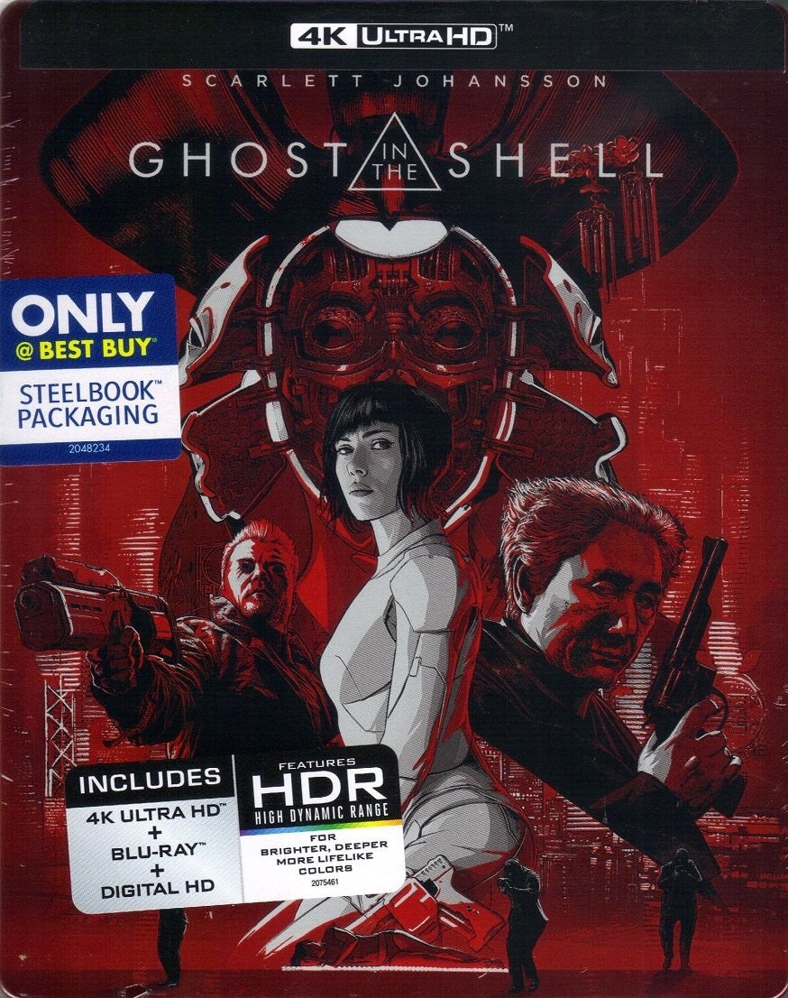 Ghost in the Shell (2017) Vudu 4K redemption only