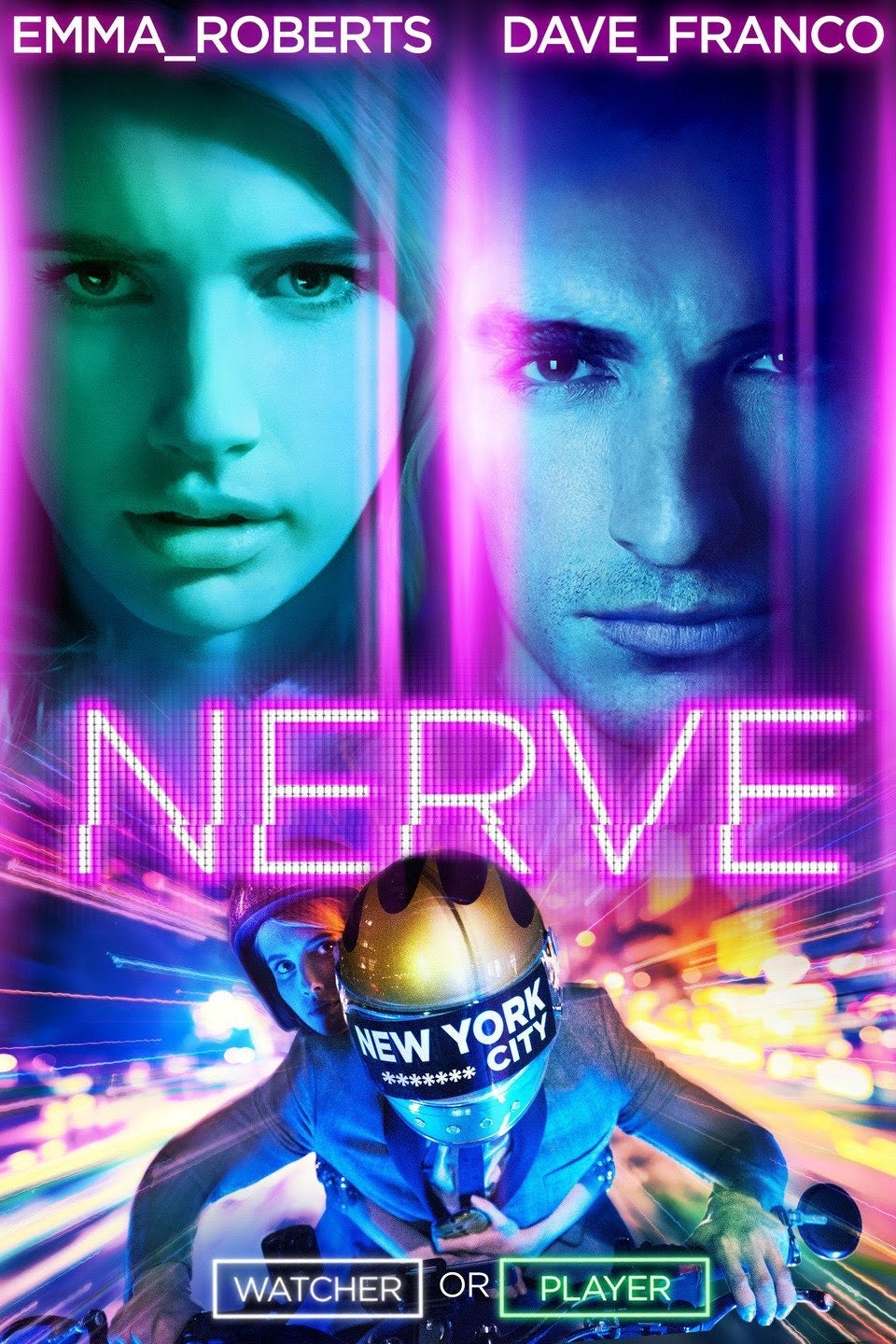 Nerve (2016) Vudu HD redemption only