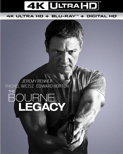 Bourne Legacy Vudu 4K redemption only