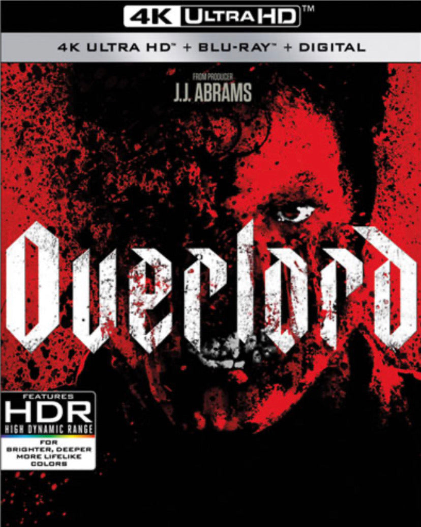 Overlord Vudu 4K redemption only