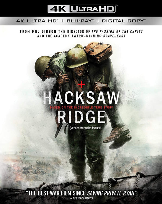 Hacksaw Ridge Vudu or iTunes 4K code