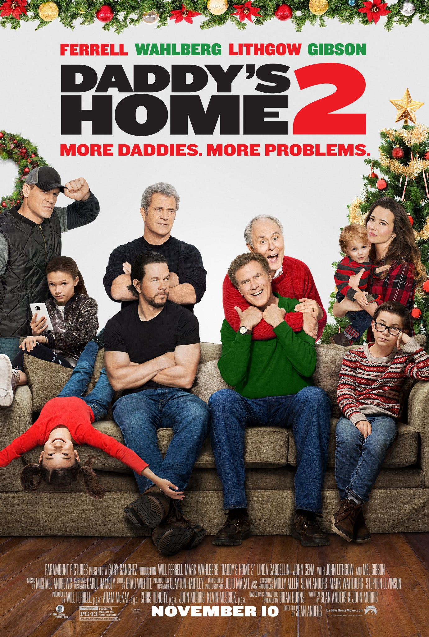 Daddy's Home 2 (2017) Vudu HD redemption only