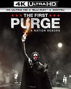 The First Purge (2018) Vudu or Movies Anywhere 4K code