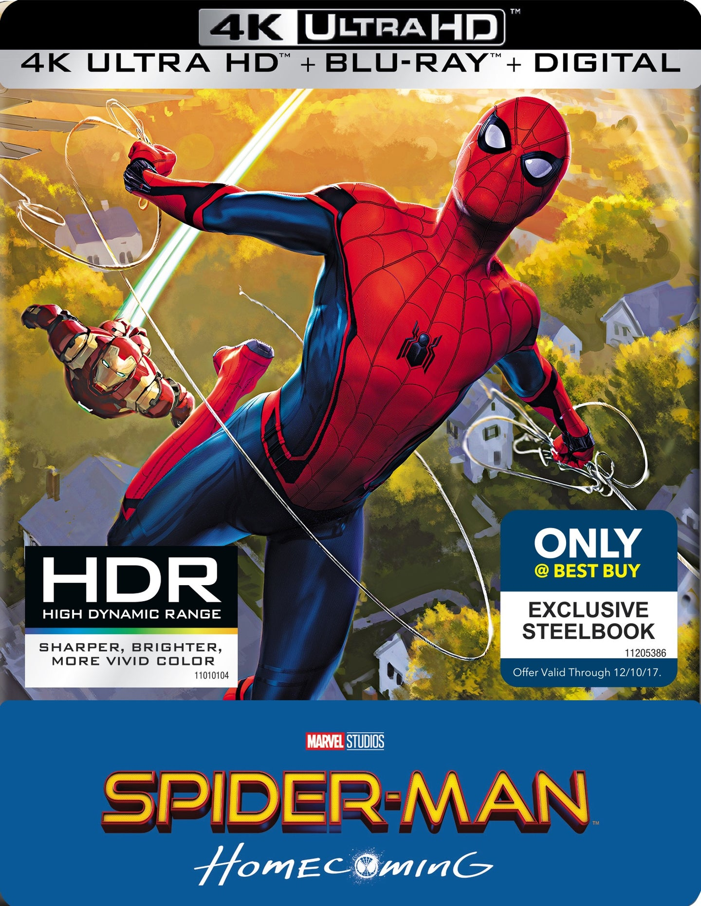 Spider-Man: Homecoming (2017) Vudu or Movies Anywhere 4K code