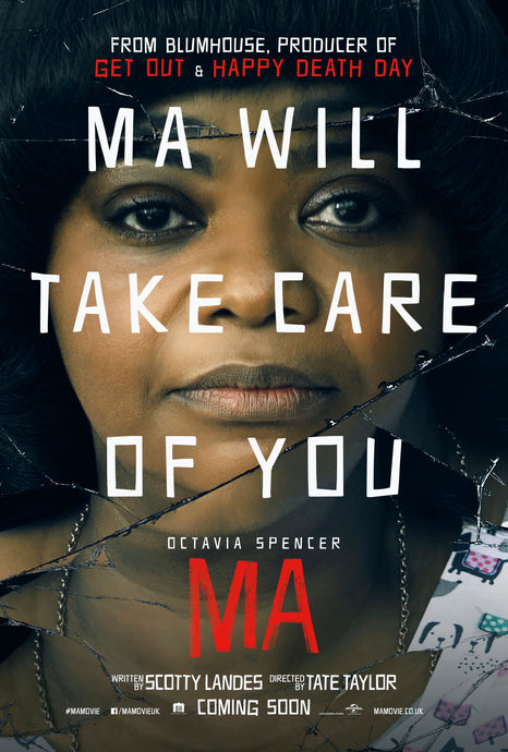 Ma (2019) Vudu or Movies Anywhere HD code
