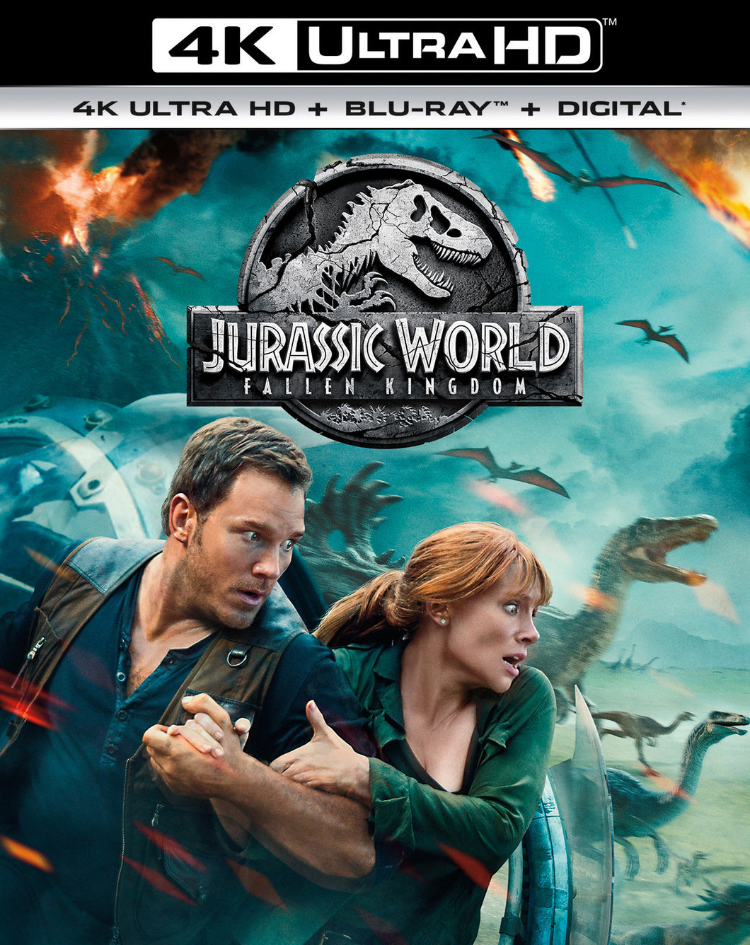 Jurassic World: Fallen Kingdom Vudu or Movies Anywhere 4K code