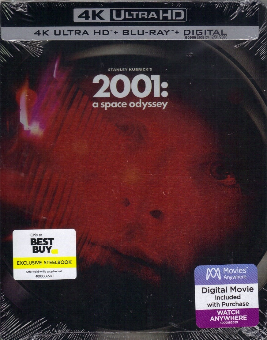 2001: A Space Odyssey (1968) Vudu or Movies Anywhere 4K code