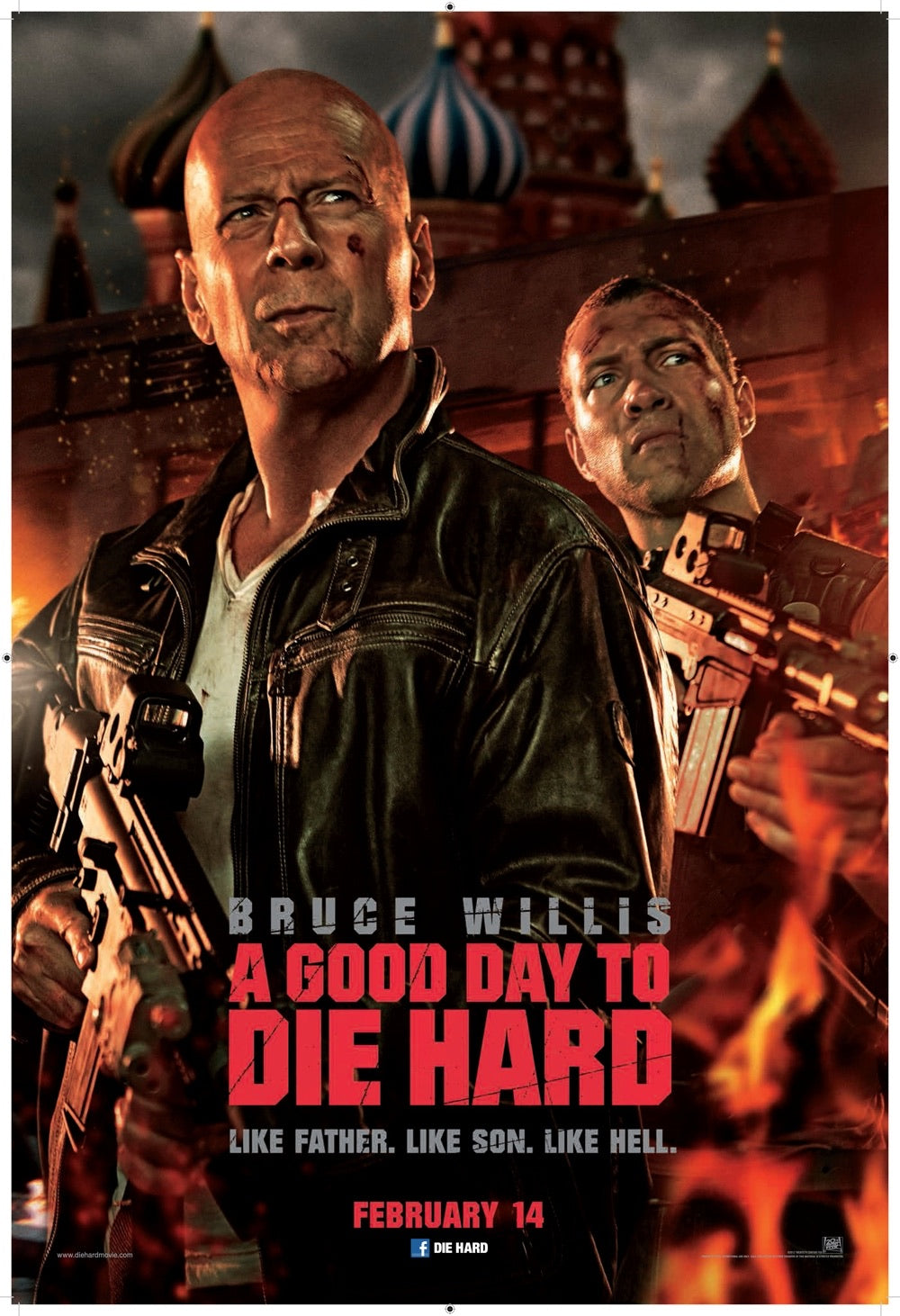 A Good Day To Die Hard (2013) Vudu or Movies Anywhere HD code