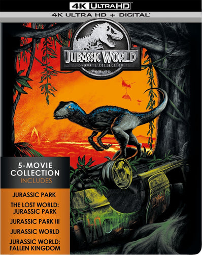 Jurassic World 5-Film Collection Vudu or Movies Anywhere 4K code