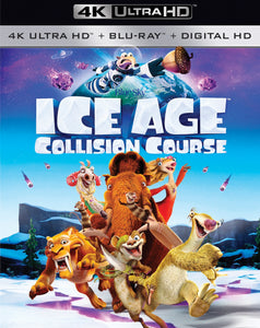 Ice Age Collision Course iTunes 4K or Movies Anywhere HD code