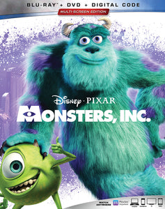 Monsters Inc. Vudu or Movies Anywhere HD redeem only