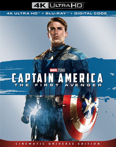 Captain America: The First Avenger (2011) Vudu or Movies Anywhere 4K redemption only