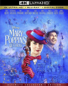 Mary Poppins Returns Vudu or Movies Anywhere 4K redemption only