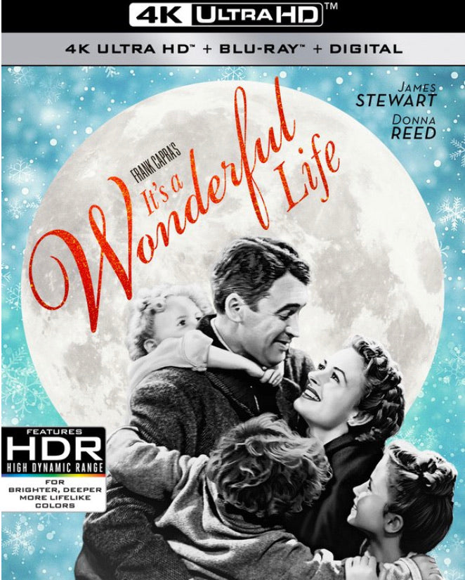 It's A Wonderful Life (1947) iTunes 4K redemption only