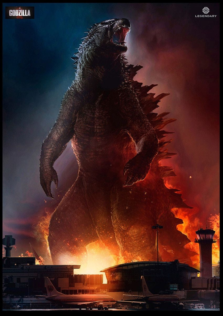 Godzilla (2014) Vudu or Movies Anywhere HD code
