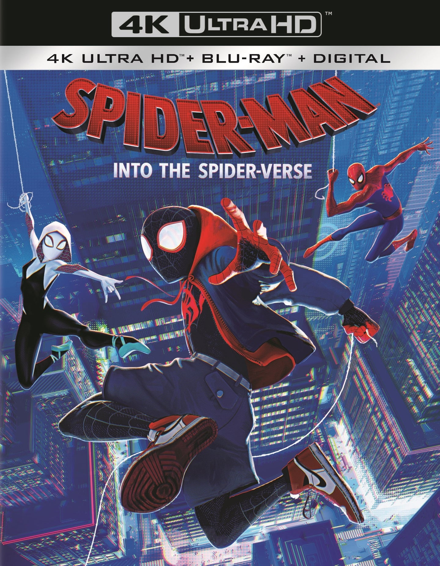 Spider-Man Into The Spider-Verse (2018) Vudu or Movies Anywhere 4K code